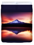 Peaceful Morning On The Lake Duvet Cover
