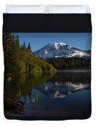 Peaceful Mountain Serenity Duvet Cover