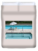 Peaceful Oasis Palm Springs Duvet Cover
