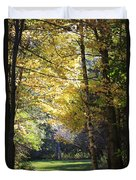 Peaceful Path Duvet Cover by Kathy DesJardins