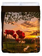Peaceful Poppy Duvet Cover