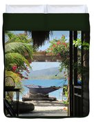 Peaceful Roatan Duvet Cover