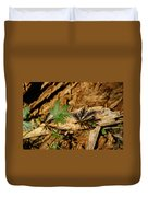 Peaceful Shadow In The Woods Duvet Cover