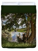 Peaceful View Duvet Cover by Robert Bales