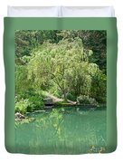 Peaceful Willow Tree Art Prints Duvet Cover