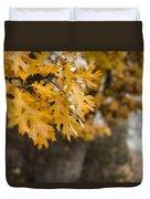 Peacefull Fall Walk Duvet Cover