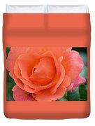 Peach Faced Rose Duvet Cover