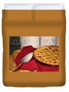 Peach Pie Duvet Cover