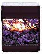 Peachy Sunset 3 Duvet Cover