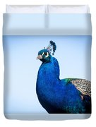 Peacock 1 Duvet Cover