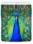 Peacock 1 Duvet Cover
