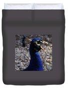 Peacock Caw Duvet Cover