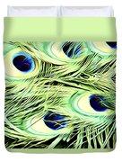 Peacock Colour Duvet Cover