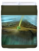 Peacock Falls Duvet Cover
