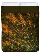 Peacock Feathers 2 Duvet Cover