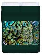 Peacock Pattern Duvet Cover