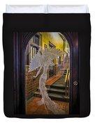 Peacock Room Door Duvet Cover