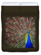 Peacock Squared Duvet Cover