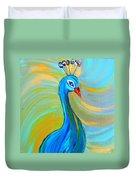 Peacock Vii Duvet Cover