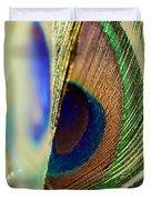 Peacocks Dance The Samba Duvet Cover