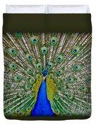Peafowl Peacock Duvet Cover
