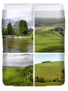 Peak District Collage 01-plain Duvet Cover