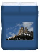 Peaks In The North Cascades Duvet Cover