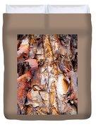 Pealing Bark Upclose Duvet Cover