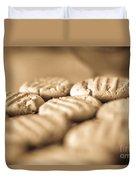 Peanut Butter Delights Duvet Cover