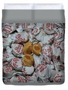 Peanut Butter Kisses - Candy - Sweets - Treats Duvet Cover