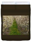 Pear Blossom Lane Duvet Cover