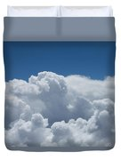 Pearl And Cobalt Duvet Cover
