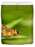 Pearl Crescent Notecard Duvet Cover
