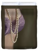 Pearl Necklace Duvet Cover