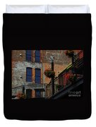 Pearl Street Grill Duvet Cover