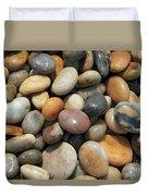 pebble beach Chesil UK  Duvet Cover
