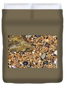 Pebbles And Sand Duvet Cover