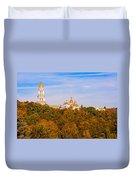 Pechersk Lavra Tower Bell Duvet Cover