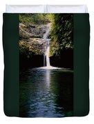 Pedernales Twin Falls-vpan Duvet Cover