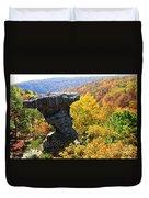 Pedestal Rock Duvet Cover