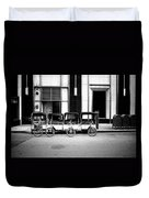 Pedicab Nyc Duvet Cover