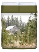 Peek At Our Farm Duvet Cover