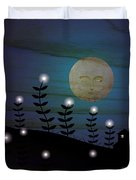 Peekers In The Star Field  Duvet Cover
