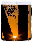 Peeking Sun Duvet Cover