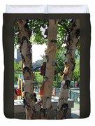 Peeling Bark Duvet Cover