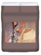 Peeling Bark - Horizontal Duvet Cover