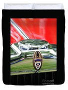 Peerless Radiator Emblem Duvet Cover