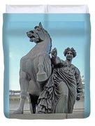 Pegasus Tamed Duvet Cover