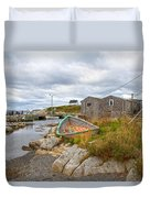 Peggy's Cove 12 Duvet Cover