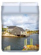 Peggy's Cove 6 Duvet Cover
